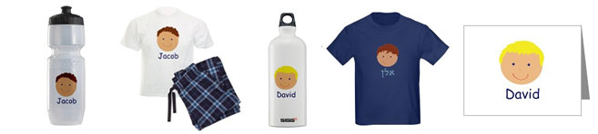 Personalize Jewish Gifts for Boys